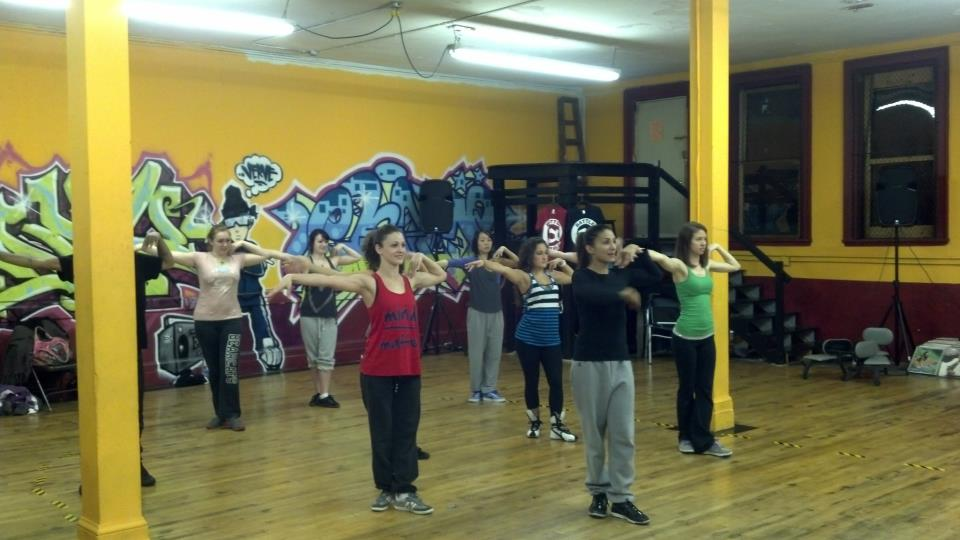Waacking Class with Melanie (1)